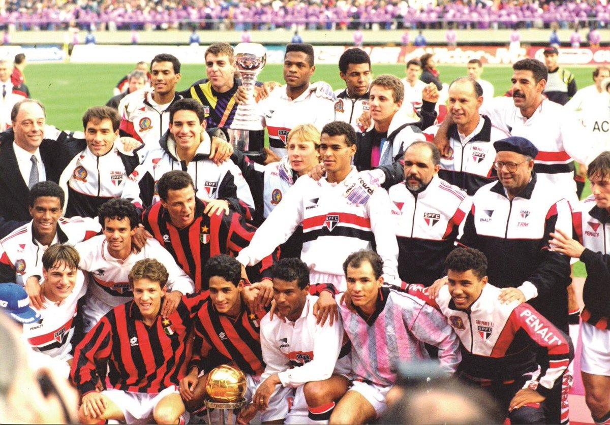 No Twitter, São Paulo comemora 25 anos do 2º Mundial de Clubes