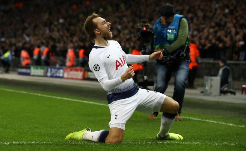 Tottenham de Eriksen precisa reagir na temporada 2019/2020