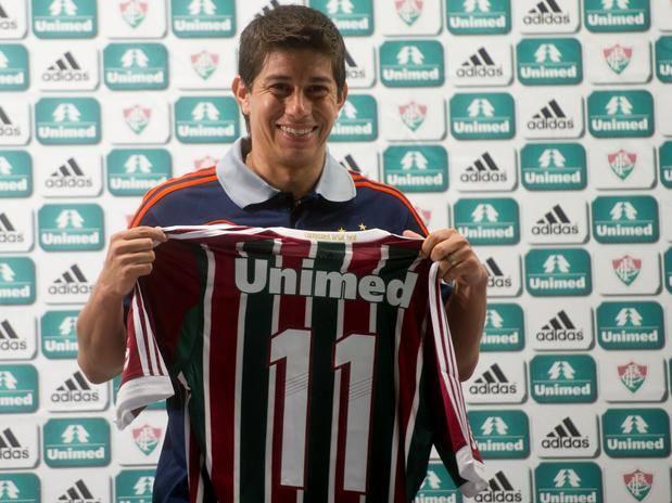 Conca foi um dos gringos que vestiram a camisa do Fluminense