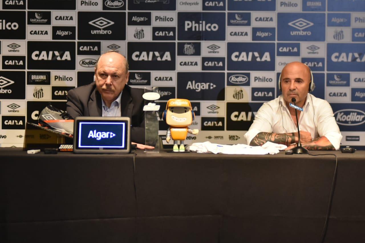 Presidente do Santos sobre Cueva