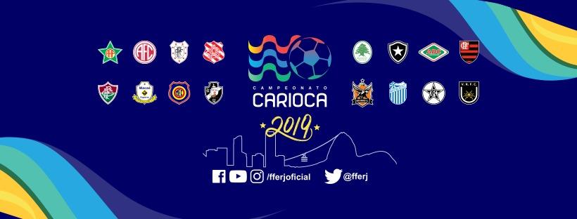 Logo do Campeonato Carioca 2019
