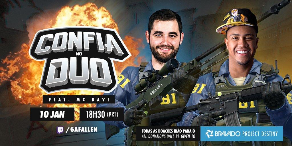 Fallen MC Davi Bravado Gaming.