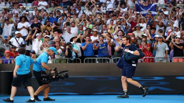 homenagem a Andy Murray