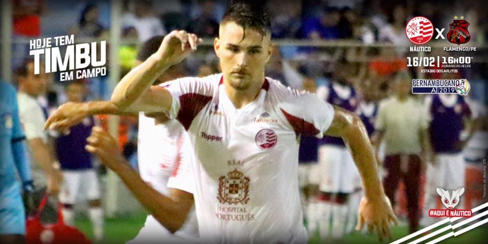Náutico x Flamengo-PE