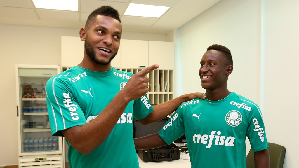 Angulo e Borja, do Palmeiras