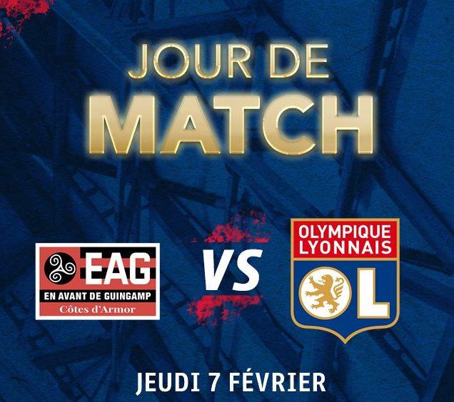 Guingamp x Lyon