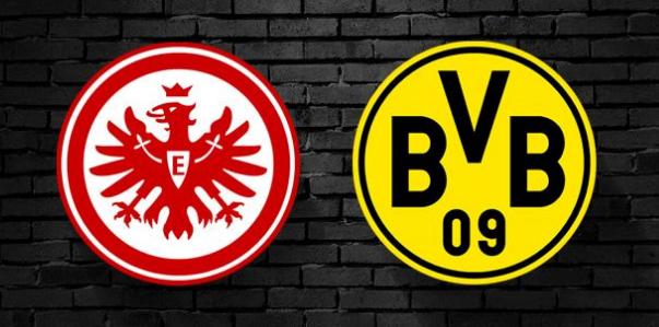 Eintracht Frankfurt x Borussia Dortmund