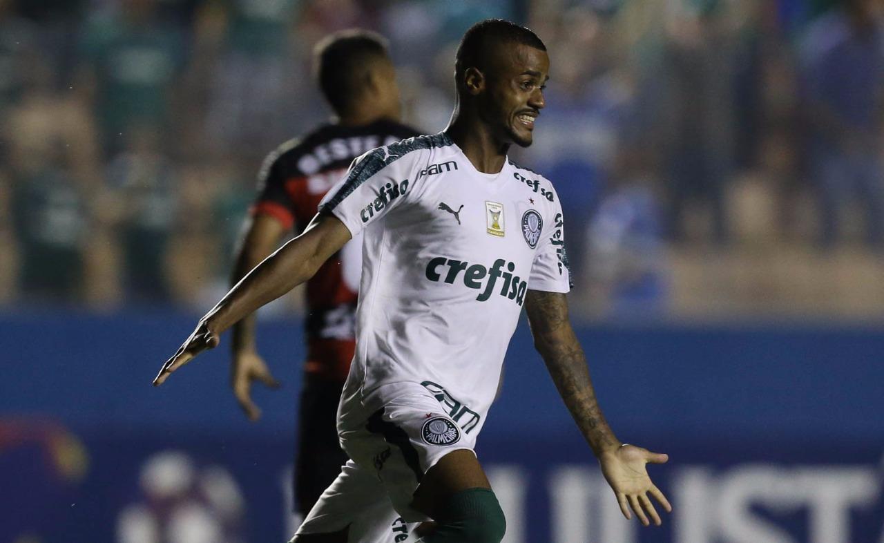 Felipe Pires no Palmeiras