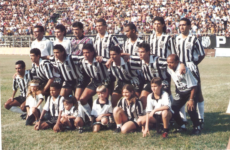 Democrata-GV em 1995; principal força do futebol no interior de Minas