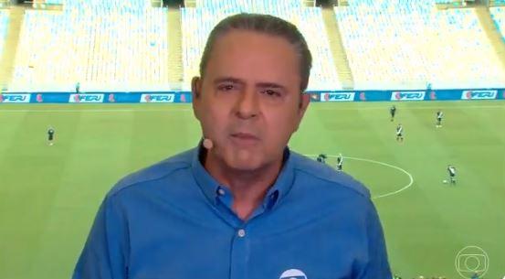 Narrador Da Globo Desabafa Sobre Confusão Na Final Da Taça