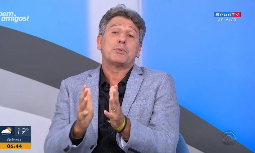 Renato Gaúcho Grêmio Léo Dias