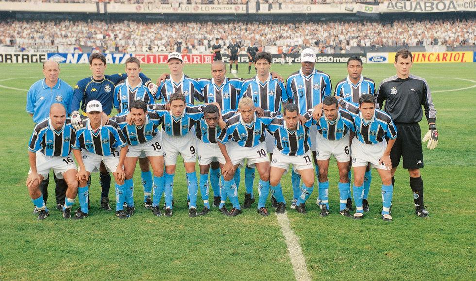 Grêmio, campeão da Copa do Brasil de 2001