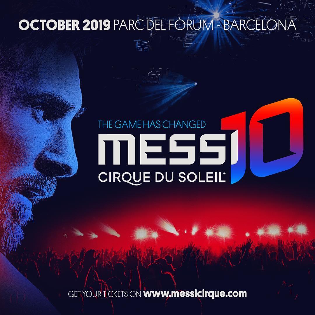 """""""Messi 10 by Cirque du Soleil"""""""