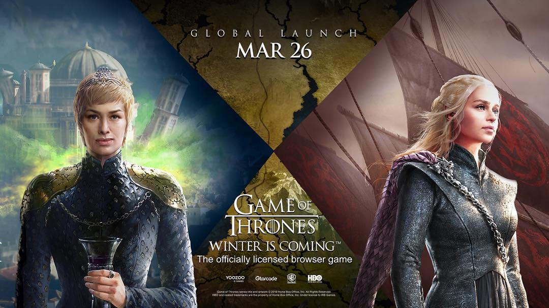 Jogo do Game of Thrones foi lançado