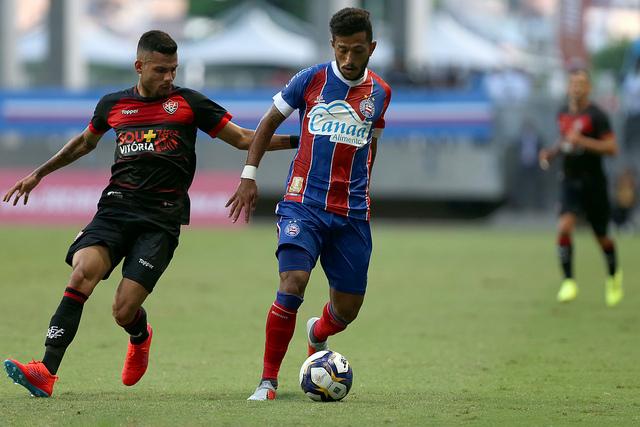 Em fevereiro teve Bahia x Vitória pela Copa do Nordeste