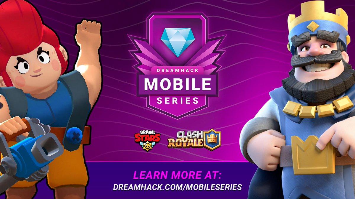 Clash Royale será um dos games mobile na Dream Hack