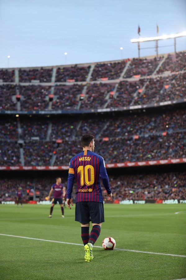 Messi cogitou deixar o Barcelona cinco anos atrás.