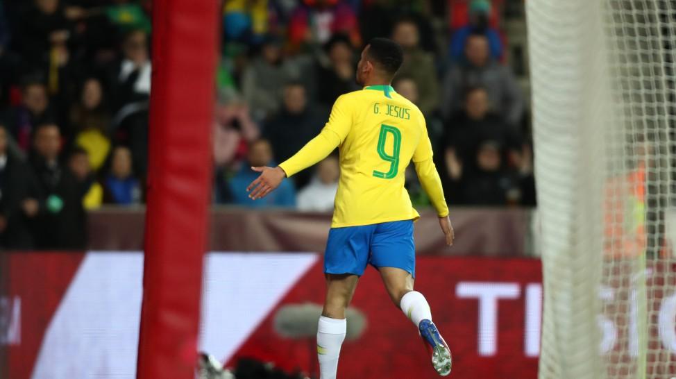 Jesus na Seleção Brasileira