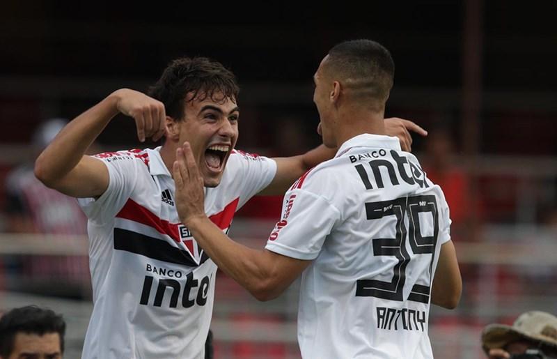 Igor Gomes está de volta ao time do São Paulo