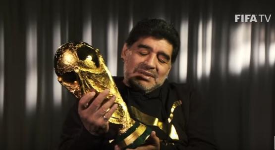 Maradona não deixou barato as declarações de Kempes e exaltou os craques da sua geração.