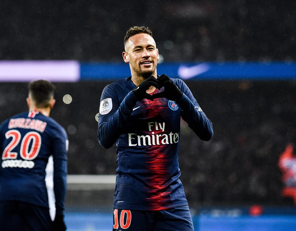 Neymar PSG-Barcelona Champions League