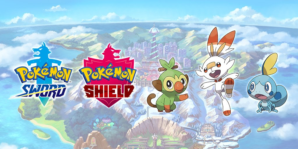 Pokémon Sword & Shield terá Pokédex limitada.