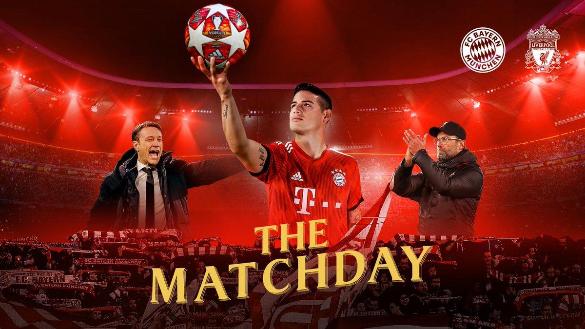 pré-jogo Bayern x Liverpool