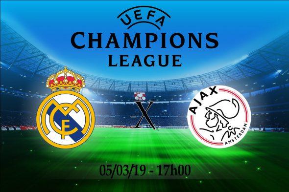 Ajax x real madrid ao vivo online