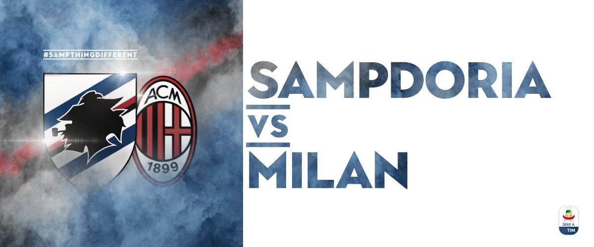 Sampdoria x Milan
