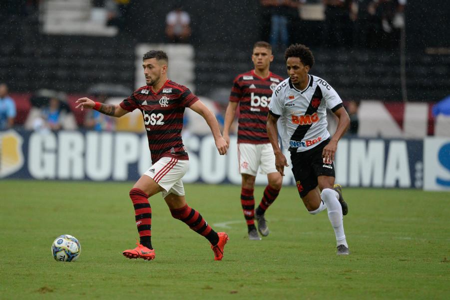 Vasco x Flamengo parcial de ingressos