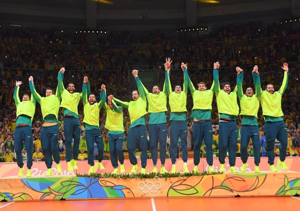 Campeões olímpicos do Rio 2016