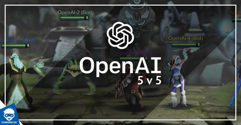 OpenAI Five estará disponível para todos os jogadores no final de semana |  Torcedores | Notícias sobre Futebol, Games e outros esportes
