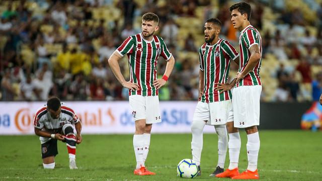Caio Henrique Everaldo Pedro Notícias do Fluminense x Santa Cruz - 17/04/2019