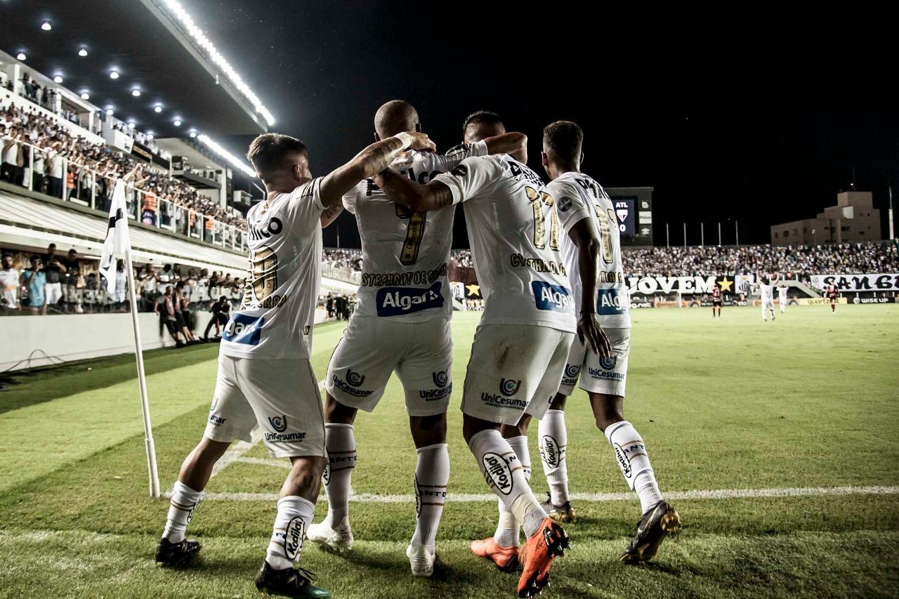 Santos x Athletico número de ingressos vendidos