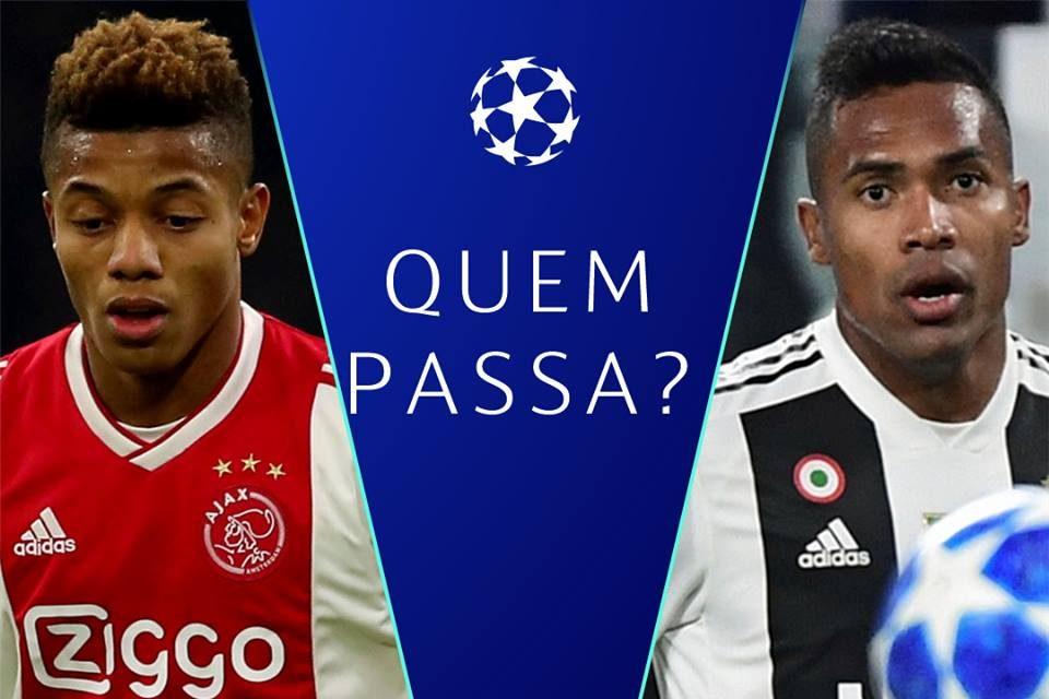 Ajax x Juventus Champions League