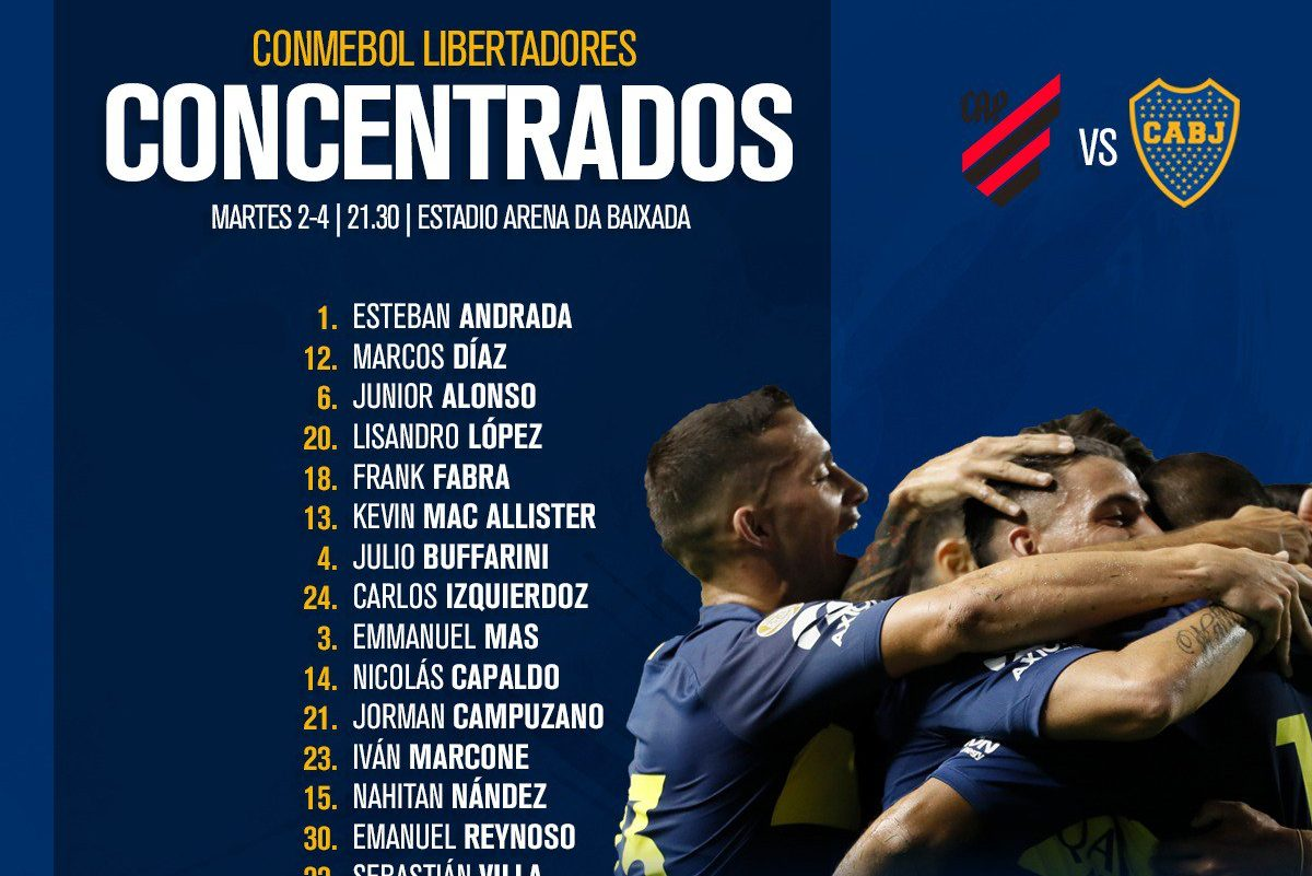 Athletico-PR x Boca Juniors