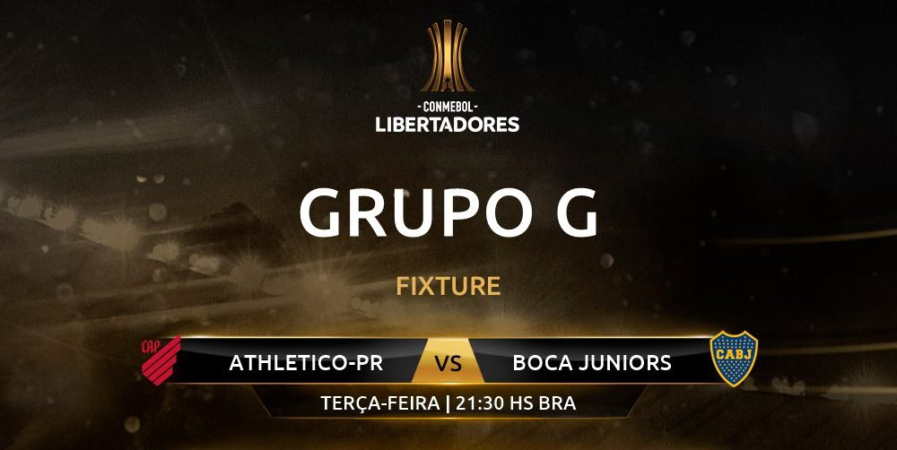 Athletico Paranaense x Boca Juniors