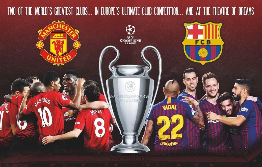 Manchester United x Barcelona