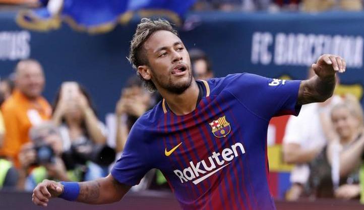 Neymar no Barcelona
