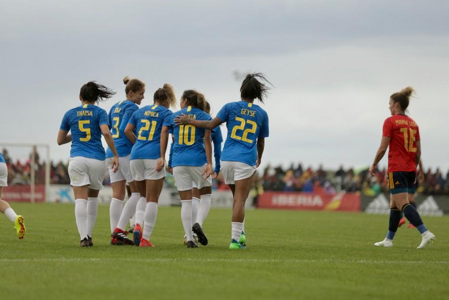 Brasil x Escócia futebol feminino