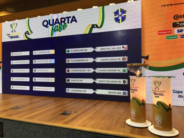 Quarta fase da Copa do Brasil começa nesta semana