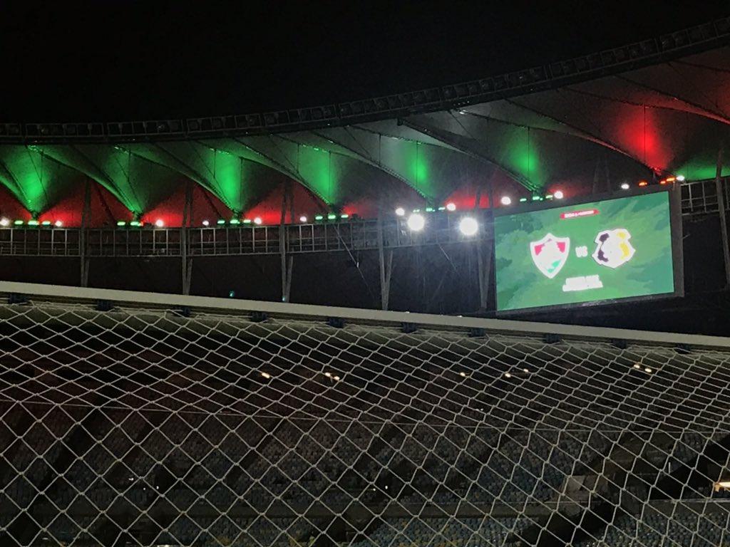 Fluminense x Santa Cruz