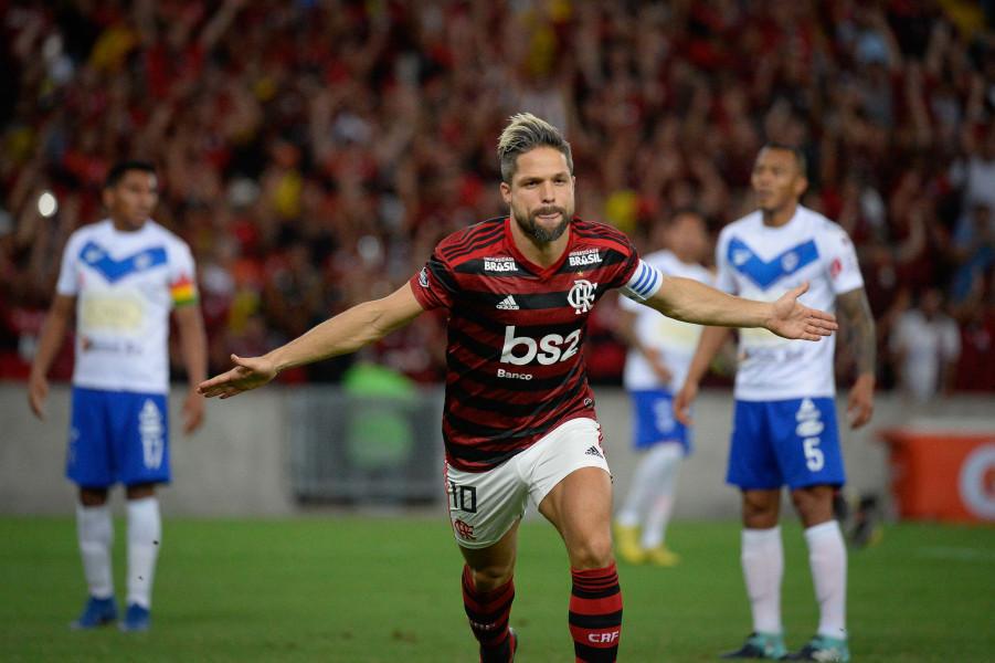 Diego, meio-campista do Flamengo