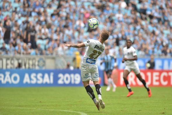 Eduardo Sasha, jogador do Santos