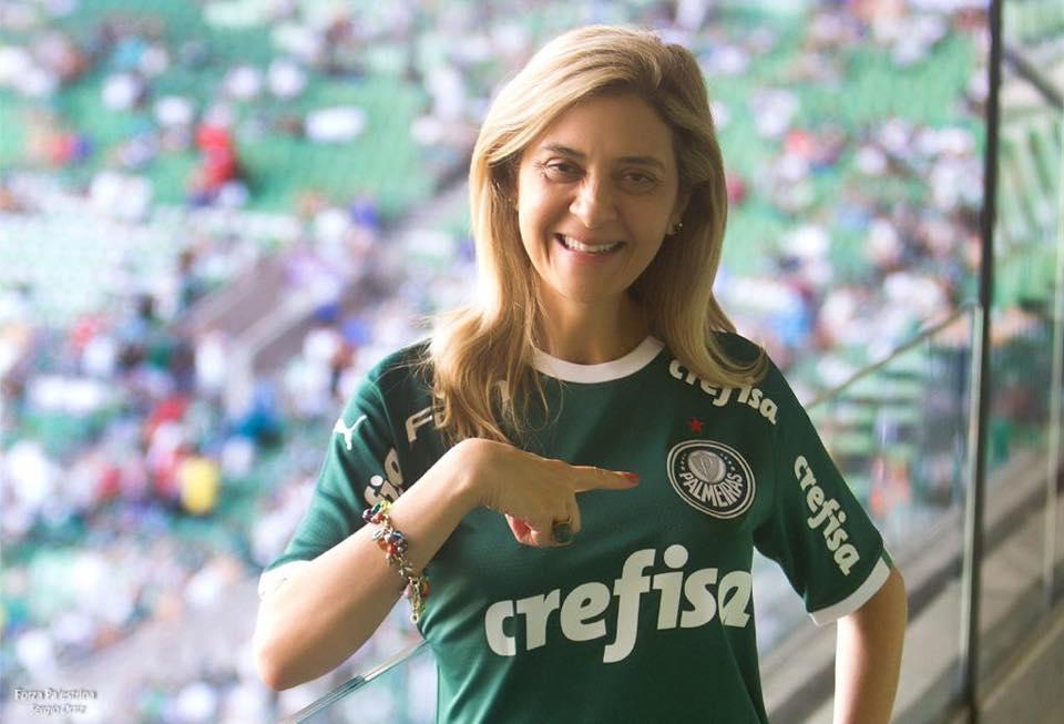[ENQUETE] Você apoia a candidatura de Leila Pereira para presidente do Palmeiras?