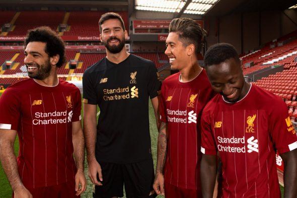 Liverpool novo uniforme