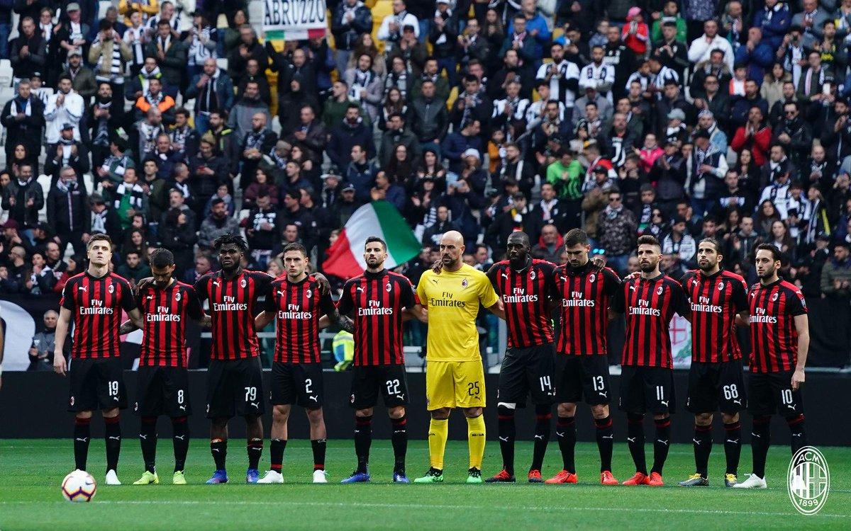 Milan relacionados x Lazio