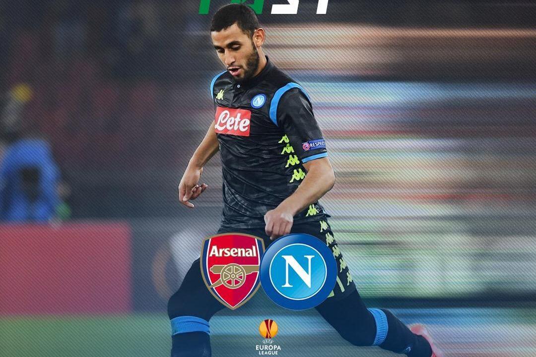 Napoli escalação Europa League