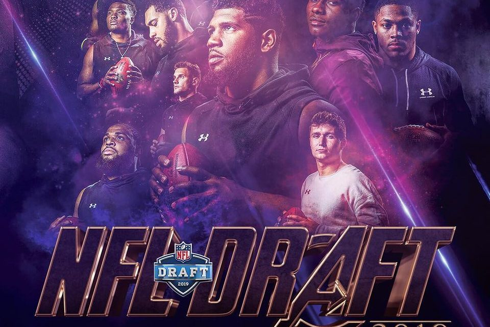 Ordem escolhas Draft NFL 2019