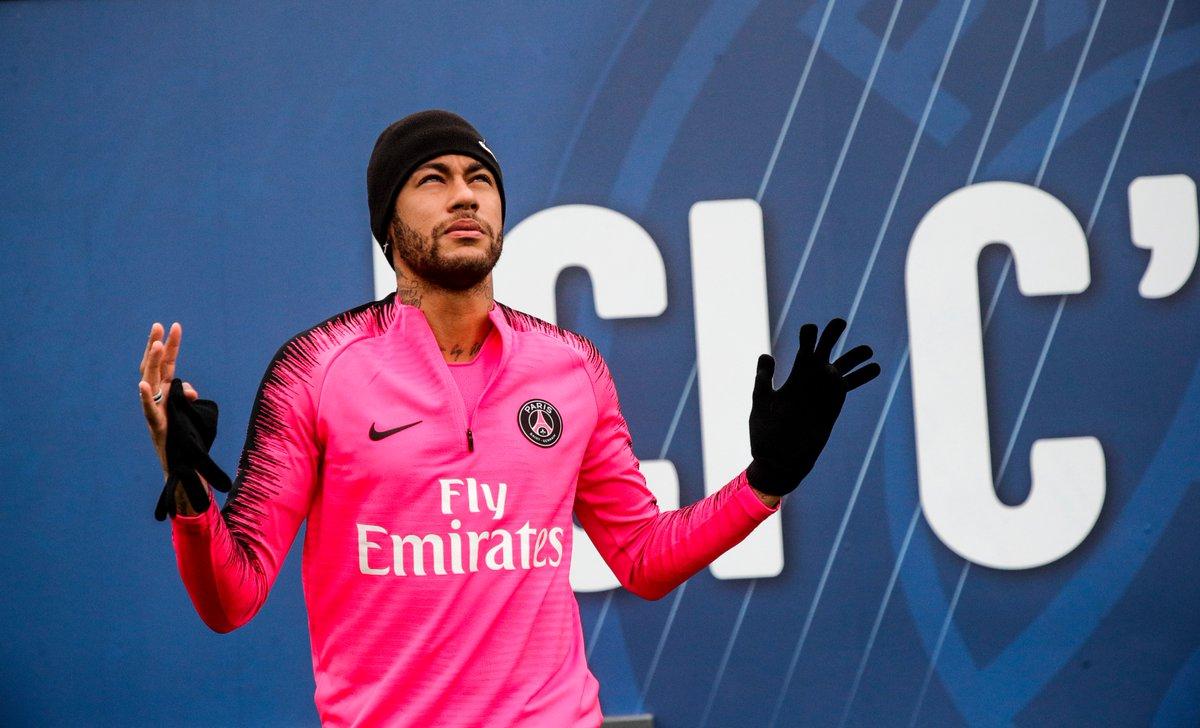 PSG Neymar escalação x Rennes